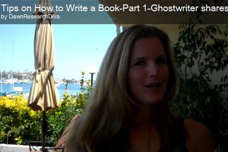 Tips for Writing a Book – Part 1