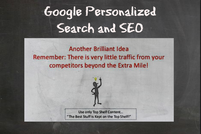 Google Personalized Search and Your Content Marketing Strategy