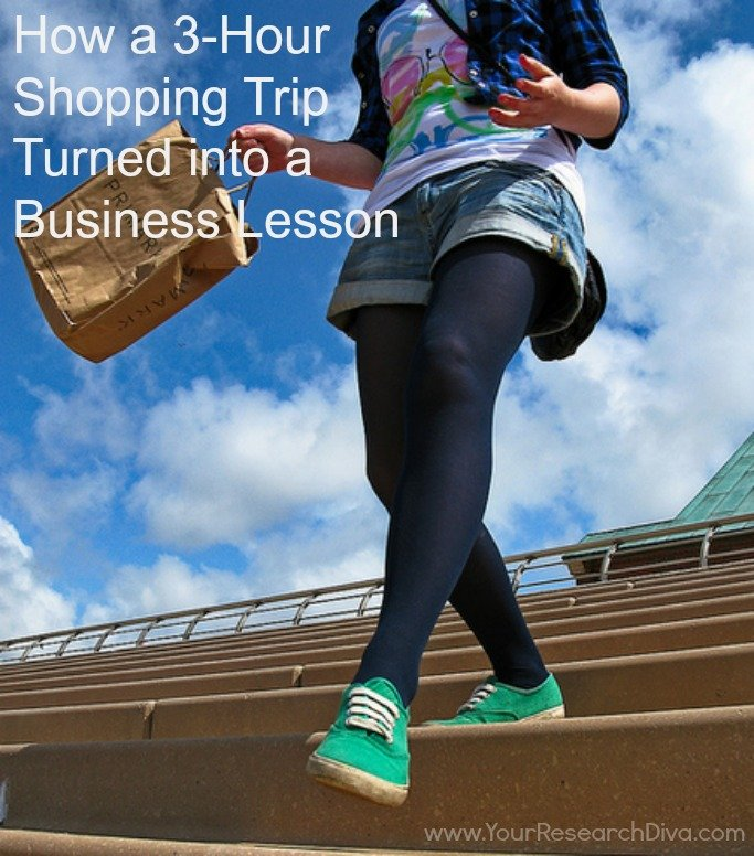 How a 3-Hour Shopping Trip Turned into a Business Lesson