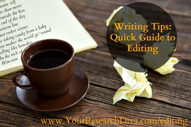 Editing: Your Checklist for Clearing out the Junk