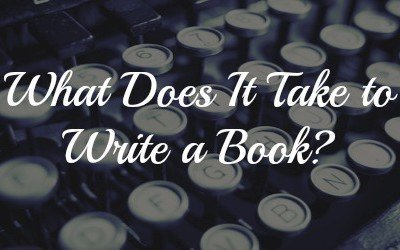 What does it take to write a book?